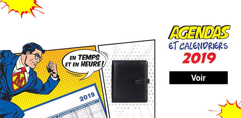 agenda-calendrier Autour du bureau ADB