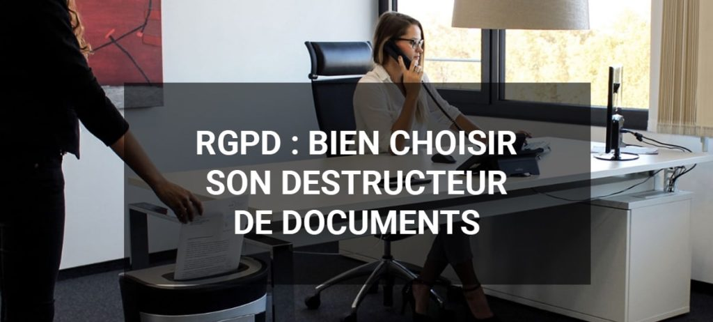 destructeur de documents