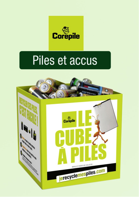reduction des dechets piles